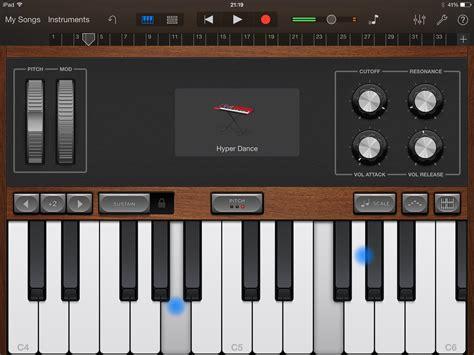 Garageband On Screen Keyboard Garageband Tutorial How To Use Garageband On