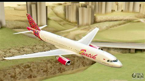 Daster Batik Rc airbus a320 batik air for gta san andreas