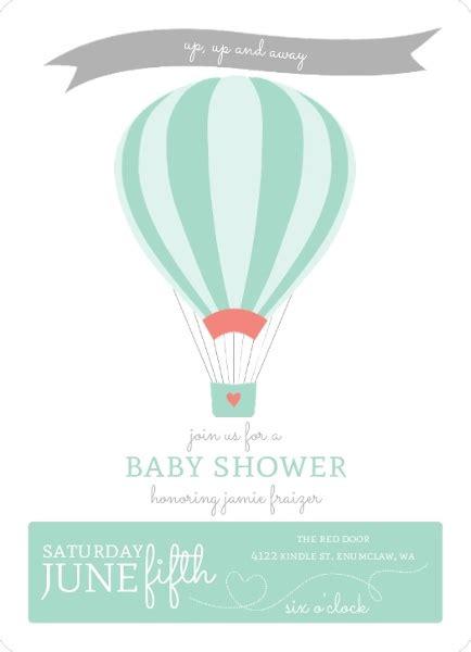 air balloon invitation template up up air balloon baby shower invitation