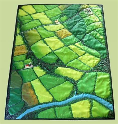 Patchwork Ireland - the quilt