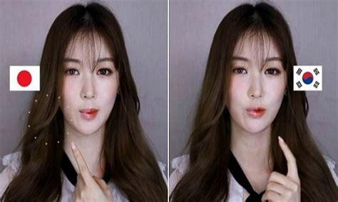 Make Up Di Jepang make up wanita jepang vs korea mana yang lebih cantik