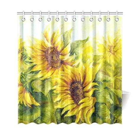 sunflower shower curtain hooks sunflower shower curtain hooks promotion shop for