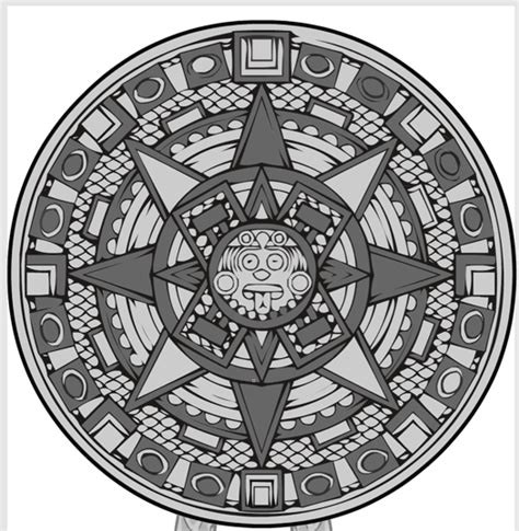 how to make an aztec calendar hm3 aztec calendar heromachine character portrait creator