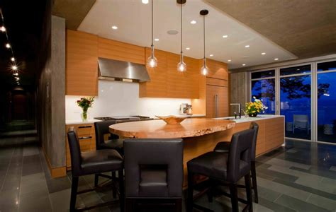 Kitchen Island Eating Bar by Kitchen Island Breakfast Bar Pender Harbour House In