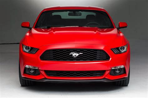 car front 2015 ford mustang front view photo 2
