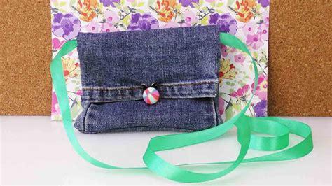 diy recycling jeans bag tasche portemonnaie aus alter