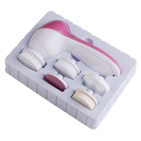 Yalicai Make Up Brush 5in1 Kuas Make Up 5 in 1 electric wash machine pore cleaner
