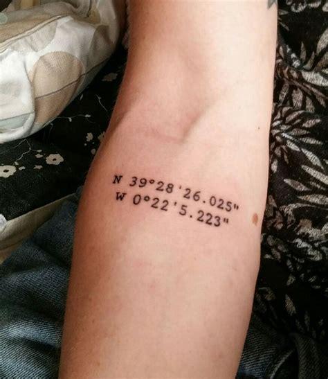 coordinates tattoo creator die besten 17 ideen zu coordinates tattoo auf pinterest