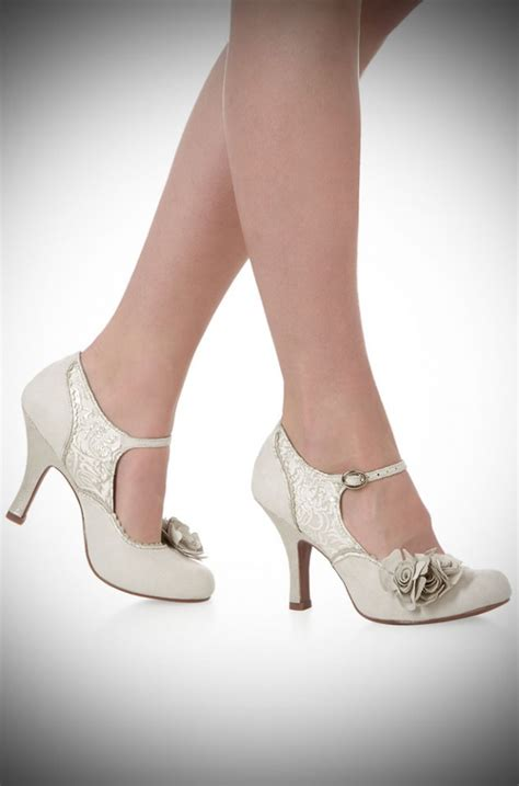 Wedding Shoes Vintage by Vintage Style Wedding And Bridesmaid Dresses