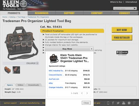 adsense for shopping klein tools launches new buy now program powered by