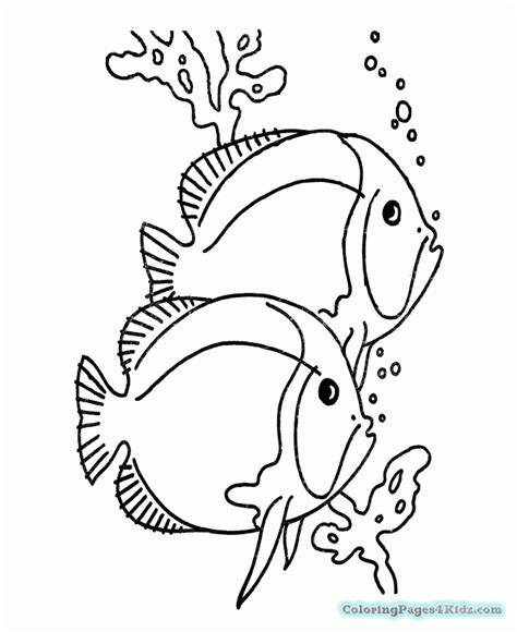 simple coloring pages fish simple clown fish coloring pages coloring pages for kids
