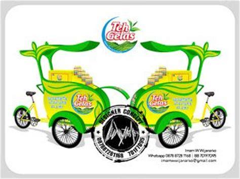 desain gerobak jogja desain logo logo kuliner desain gerobak jasa desain