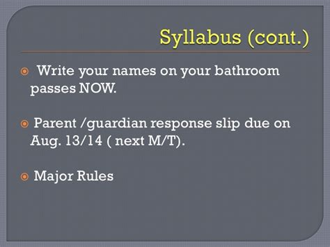 Biology Bathroom Pass Introduction To 10th Grade Biology