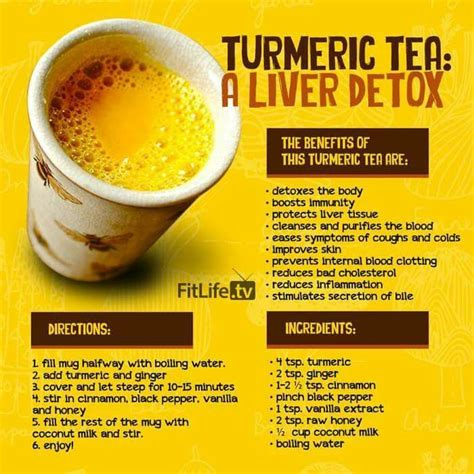 Can Turmeric Detox Symptoms Kill Me 25 best diet tea ideas on cleanse drink