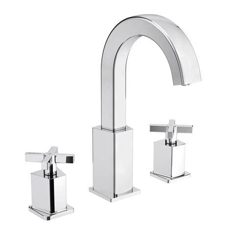 bathroom basin taps uk bristan cascade cas 3hbas c 3 tap hole basin mixer with
