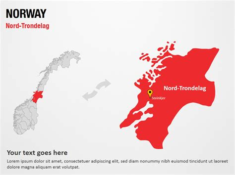 powerpoint themes norway nord trondelag norway powerpoint map slides nord