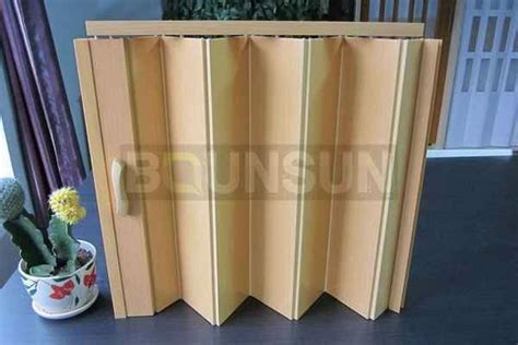 Plastic Folding Doors Interior Door For Separate Room Folding Plastic Doors Interior
