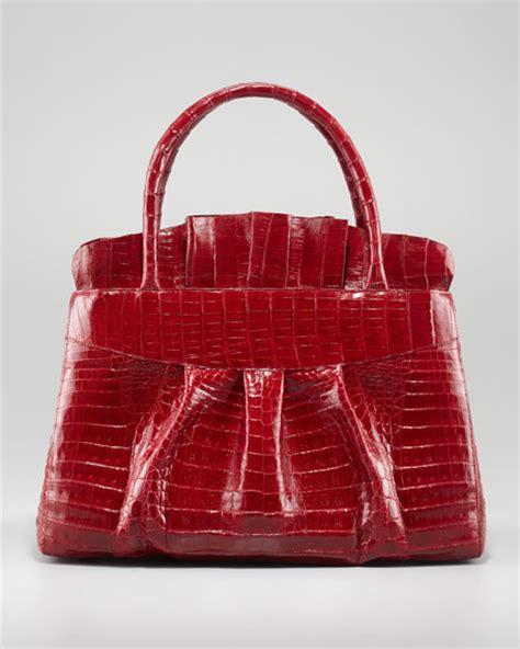 Nancy Ruffle by Nancy Gonzalez Ruffle Top Tote Bag