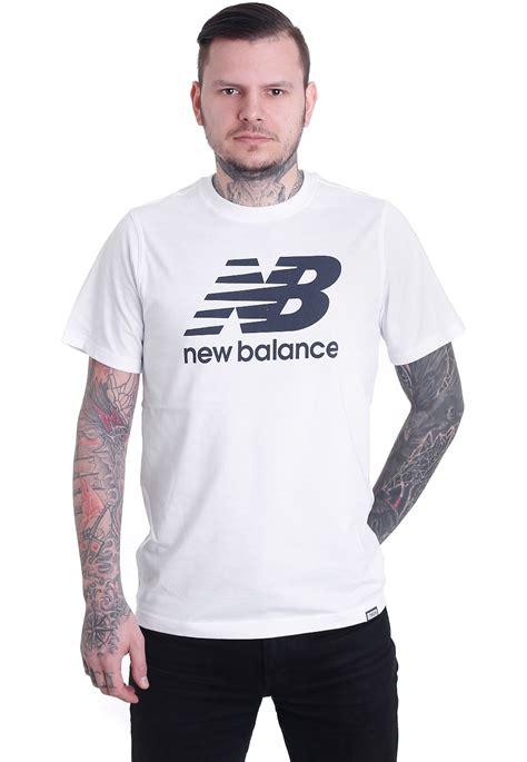 New Balance Shirt Crymson new balance classics mt63554 white t shirt streetwear shop impericon uk