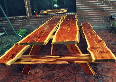 texas wood creations creates picnic tables benches