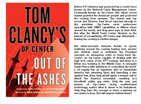 tom clancy s op center out of the ashes books advance praise for out of the ashes george