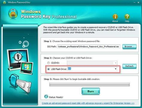 windows password resetter usb how to reset windows 7 password with bootable usb drive