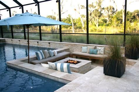 Bedroom Vanity Plans Carroll Pool Traditional Patio Jacksonville By