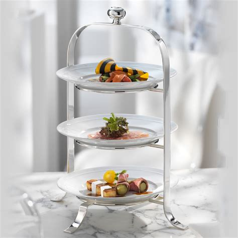quot etagere quot telleretagere aus silber robbe und berking - Etagere Teller