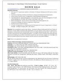 Resume For Dot Net Developer Dot Developer Resume Images