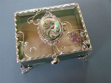 handmade unique jewelry boxes by jags jewelryart