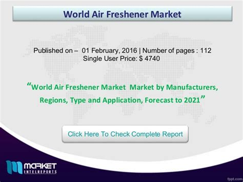 Best Air Freshener On The Market World Air Freshener Market Future Trends And Best