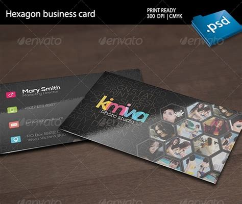 business card studio 17 best photography business card templates