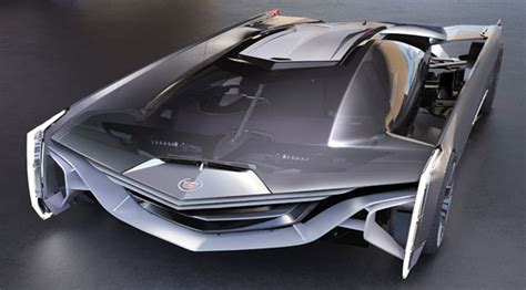 cadillac supercar 187 concept the futuristic supercar cadillac estill future