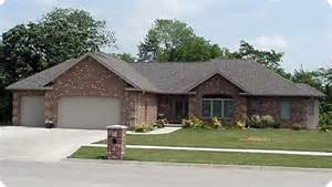 Ranch Style House Plans With Garage Lovely Ranch Design Home Ranch Homes Exterior Trim And Style