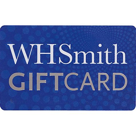 Smiths Gift Cards - wh smith gift card 15 pound
