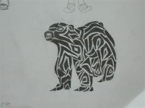 tribal polar bear tattoo 1000 images about polar designs on