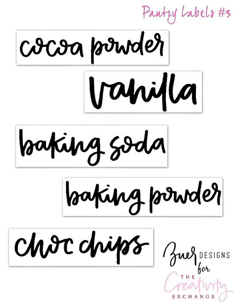 Printable Sticker Labels