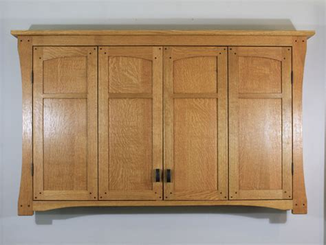 buy a made mission style tv wall cabinet in solid