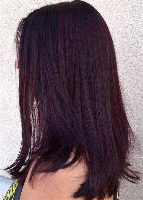 black violet hair color 50 shades of burgundy hair maroon wine