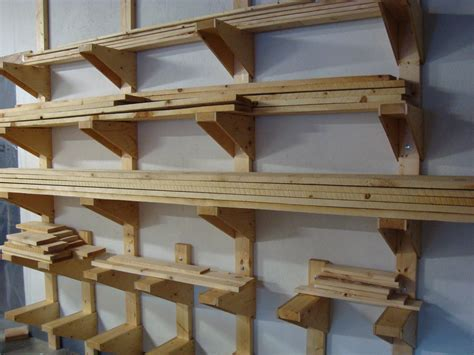 woodworking storage follow your woodworking workshop lumber rack