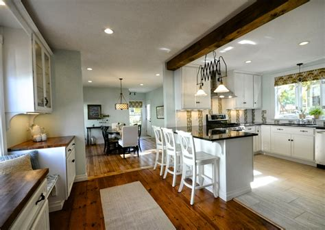 Kitchen With Dining Room by Sopo Cottage Open House Sunday October 20th