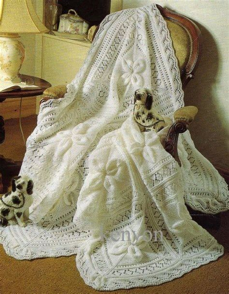 leaf pattern baby shawl instant pdf baby knitting pattern shawl and cot blankets