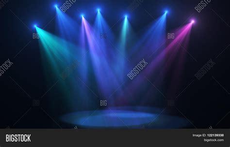 Concert Lights by Concert Stage Color Lights High Resolution Stock