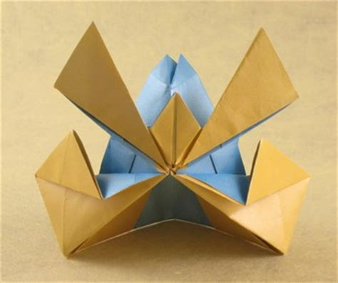 How To Make An Origami Samurai Helmet - joost langeveld origami page