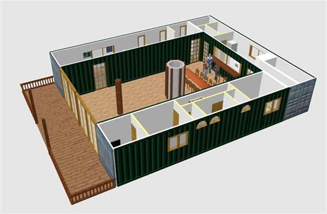 Micro Houses Plans by Sweet Home 3d Forum View Thread Shipping Container
