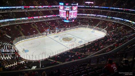 United Center Section 321 Chicago Blackhawks
