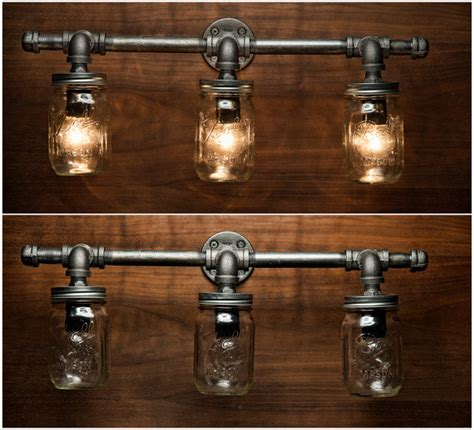 Rustic Bathroom Light Fixtures Best 25 Rustic Vanity Lights Ideas On Pinterest Bathroom Lighting Fixtures Rustic Bathroom