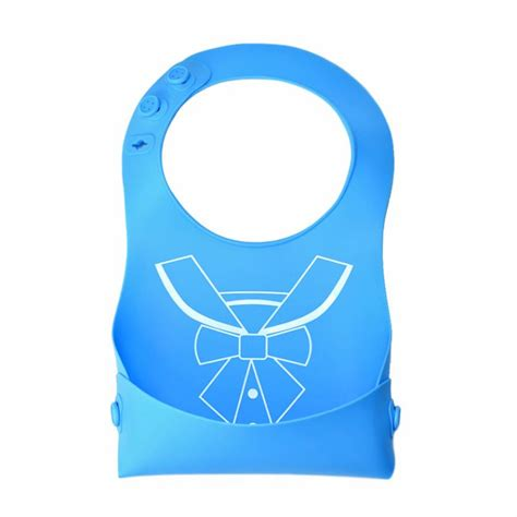 Baby Bibs Waterproof 1 baby bibs waterproof silicone waterproof baby bibs soft infant feeding bibs new