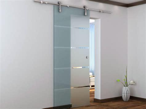 porte coulissante en verre lapeyre porte coulissante en applique glassy h205 x l83 cm