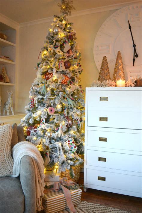 christmas tree room home design